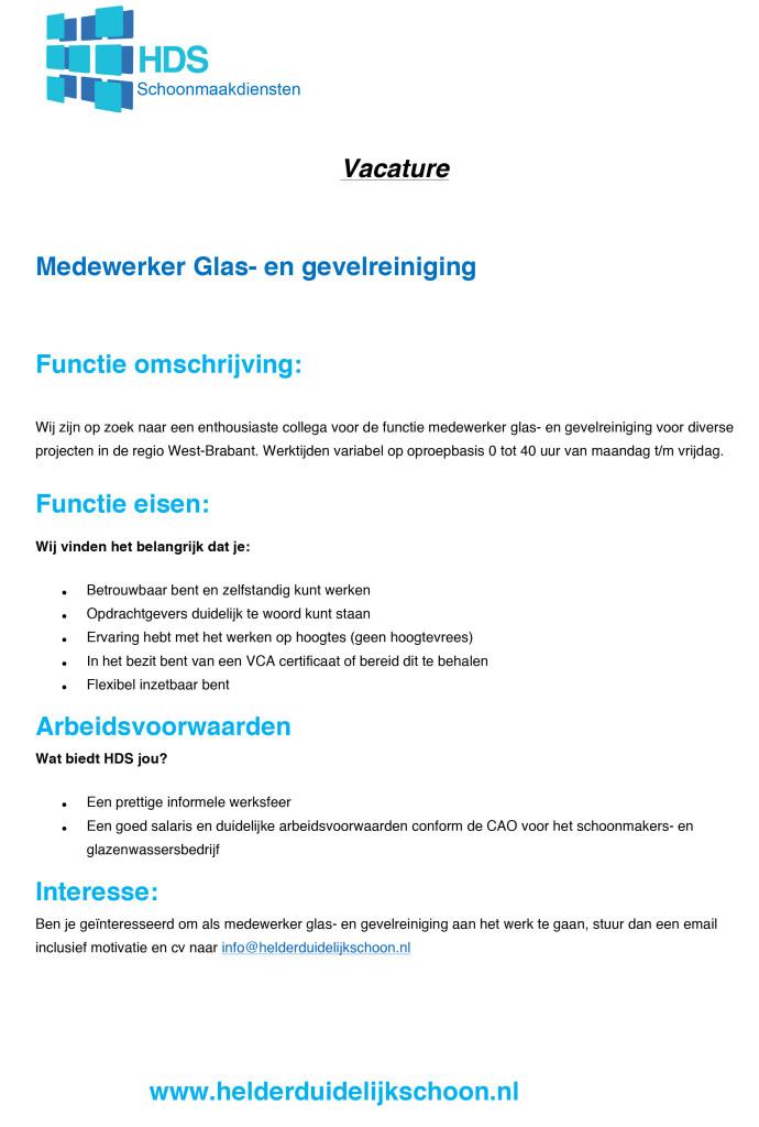 Microsoft Word - vacature glas-en gevelreiniging.docx